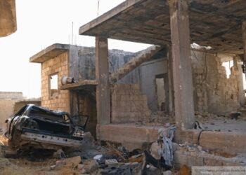 Заминированная машина взорвалась около полицейского участка в САР