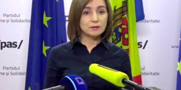 Майя Санду анонсировала акцию протеста в Кишиневе 6 декабря