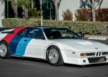 На аукцион выставили принадлежавший звезде «Форсажа» суперкар BMW M1