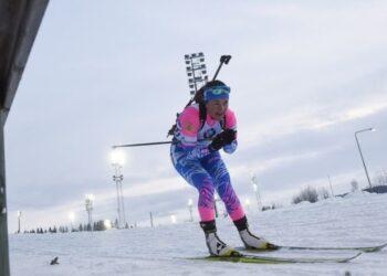 Сборная России стала победителем женской эстафеты на этапе Кубка IBU