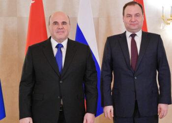 Мишустин и Головченко обсудили соглашение о нефтепродуктах и борьбу с COVID-19