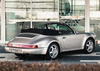 В Париже на аукционе будет продан эксклюзивный кабриолет Porsche Диего Марадоны