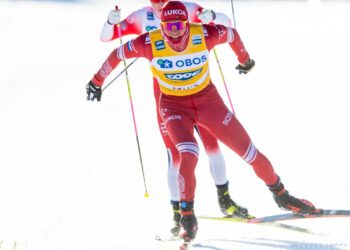 Большунов и Ретивых завоевали бронзу на ЧМ по лыжным видам спорта