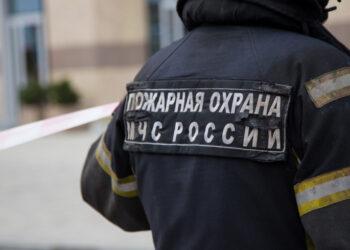 В подмосковном Одинцове возник пожар на заводе огнеупорных изделий