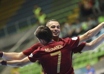 Российская сборная по мини-футболу завоевала третью победу в отборе ЧЕ-2022