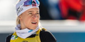 Экхофф выиграла спринт на этапе Кубка мира по биатлону в Нове-Место