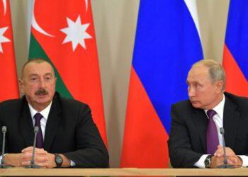 Владимир Путин обсудил с Ильхамом Алиевым ситуацию вокруг Нагорного Карабаха