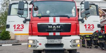 На складе на юго-востоке Москвы произошел пожар